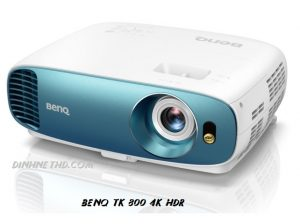 may chieu benq tk 800 4k hdr